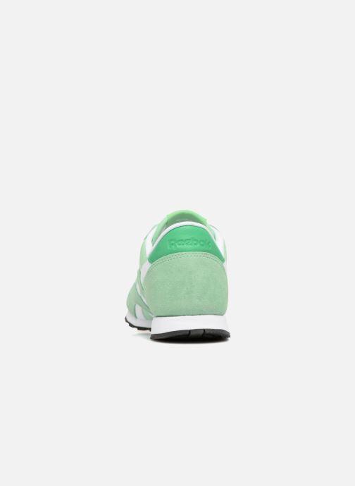 Cl Chez Baskets Hv vert Reebok Slim Nylon dwq80U