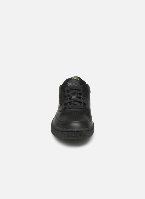 Baskets Reebok Club C 85 Noir vue portées chaussures