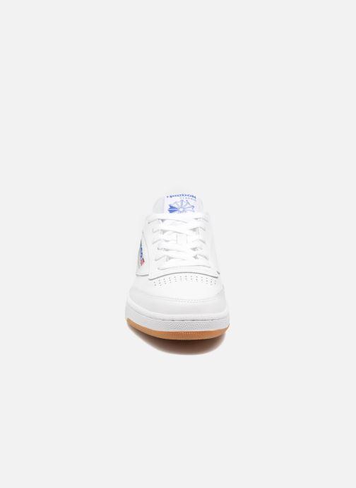Baskets Reebok Club C 85 Blanc vue portées chaussures