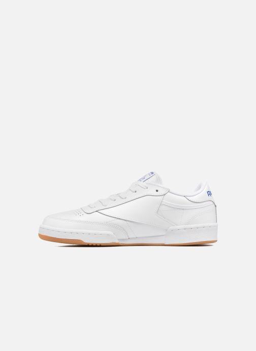 Baskets Reebok Club C 85 Blanc vue face