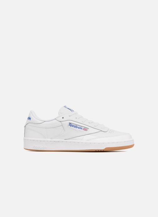 Sneaker Reebok Club C 85 weiß ansicht von hinten