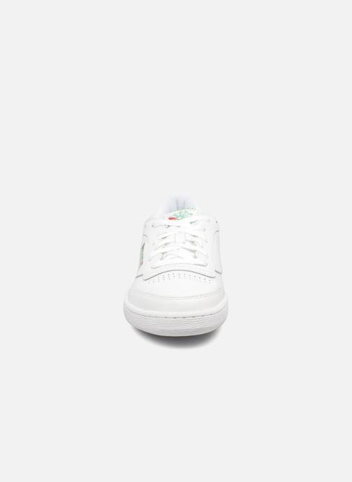 Sneaker Reebok Club C 85 weiß schuhe getragen