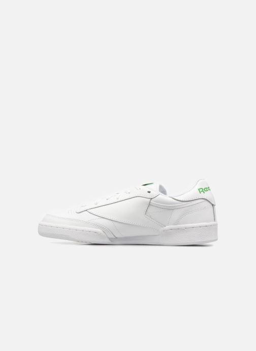 Sneaker Reebok Club C 85 weiß ansicht von vorne