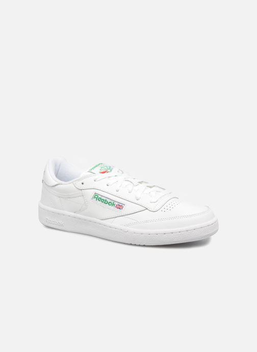 5eb2c6e5e29b2 Sneakers Reebok Club C 85 Hvid detaljeret billede af skoene