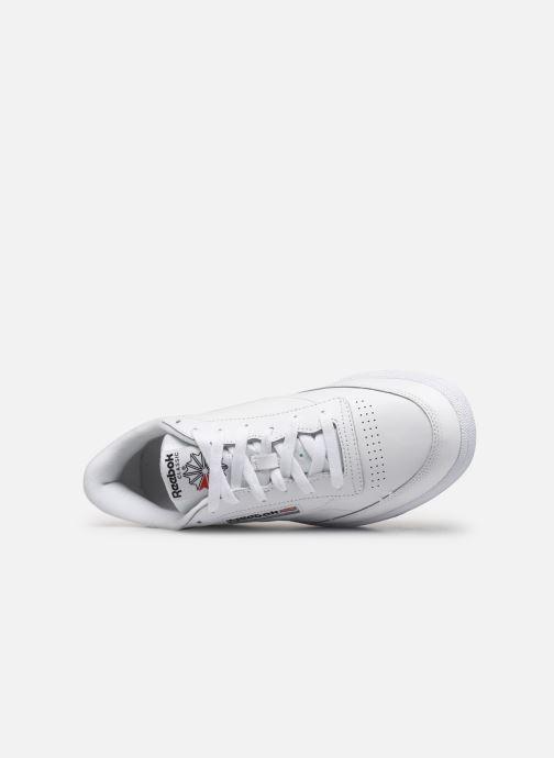 Sneaker Reebok Club C 85 weiß ansicht von links