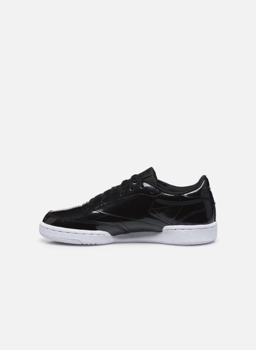 Sneaker Reebok Club C 85 schwarz ansicht von vorne