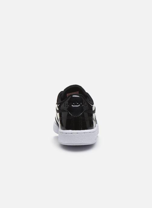 Sneaker Reebok Club C 85 schwarz ansicht von rechts