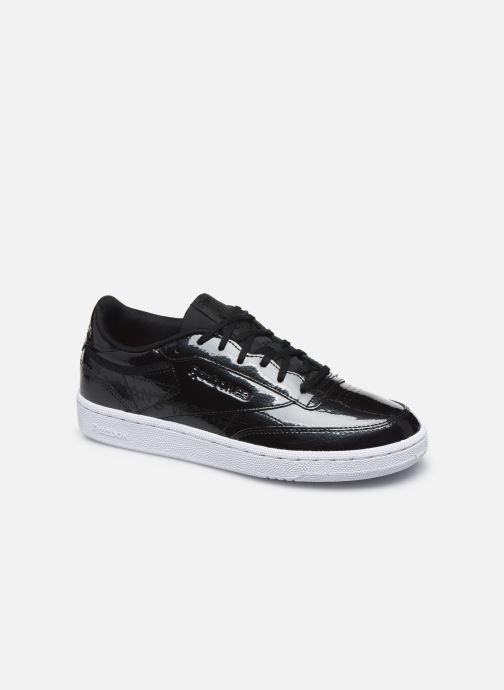 Sneaker Reebok Club C 85 schwarz detaillierte ansicht/modell