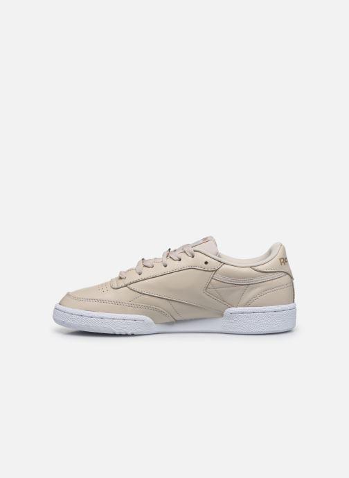 Sneakers Reebok Club C 85 Hvid se forfra