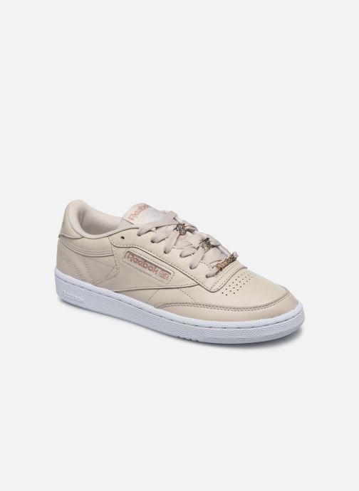 Sneakers Reebok Club C 85 Hvid detaljeret billede af skoene