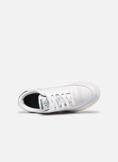 Sneakers Reebok Club C 85 Hvid se fra venstre