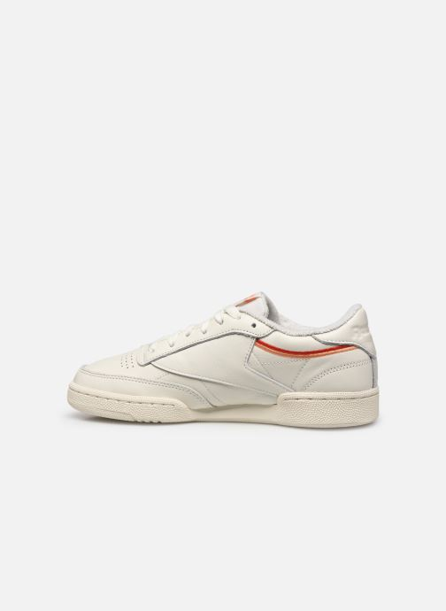 Trainers Reebok Club C 85 White front view