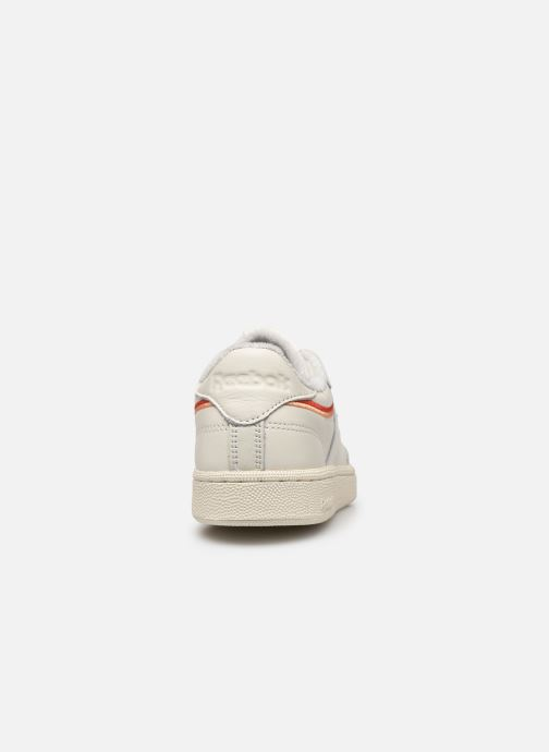 Trainers Reebok Club C 85 White view from the right