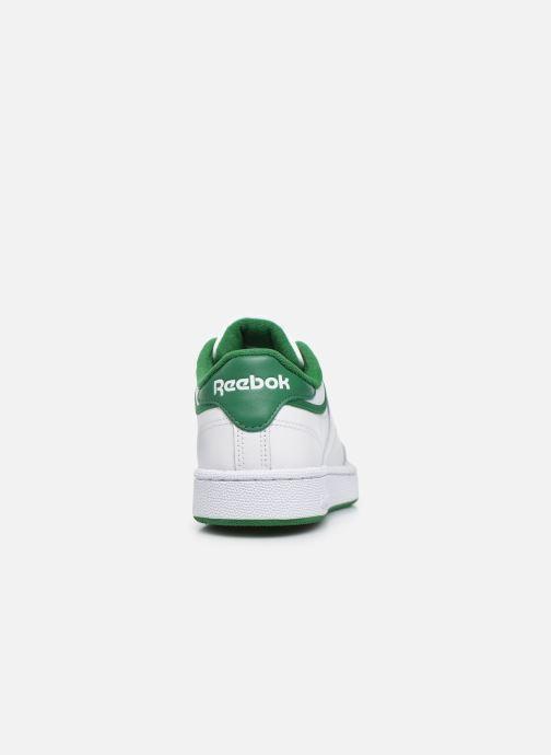 Baskets Reebok Club C 85 Blanc vue droite