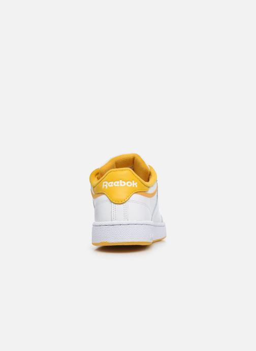 Sneakers Reebok Club C 85 Wit rechts