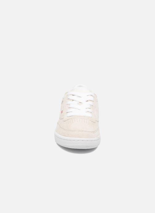 Sneakers Reebok CLUB C 85 Hip Hop Beige modello indossato