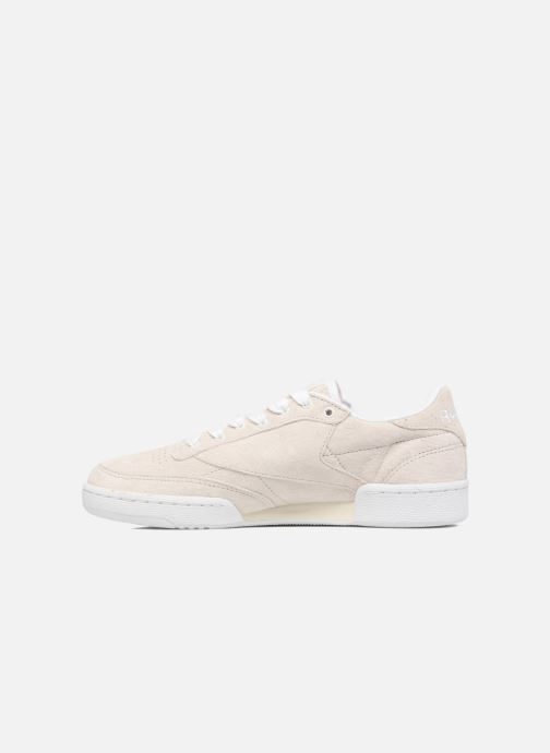 Baskets Reebok CLUB C 85 Hip Hop Beige vue face