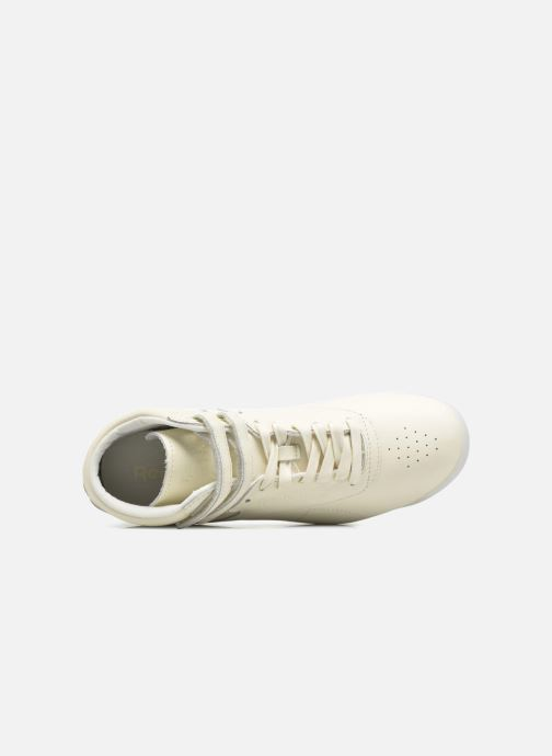 Sneakers Reebok F/S Hi Face 35 Bianco immagine sinistra