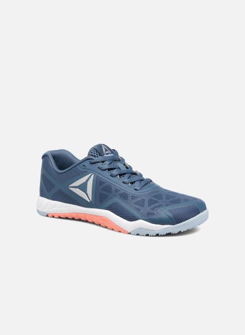 differently 54a85 6e8ae Chaussures de sport Reebok Ros Workout Tr 2.0 Bleu vue détail paire