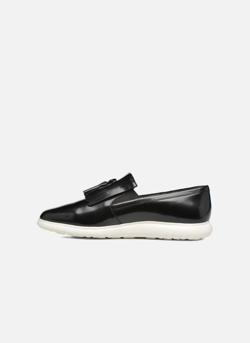 Mocassins What For Poppy Zwart voorkant