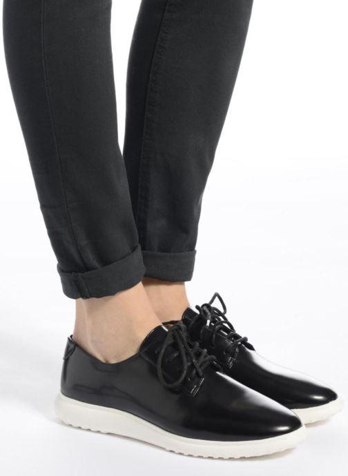 Zapatos con cordones What For Iris Negro vista de abajo