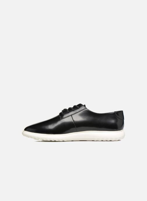 Zapatos con cordones What For Iris Negro vista de frente