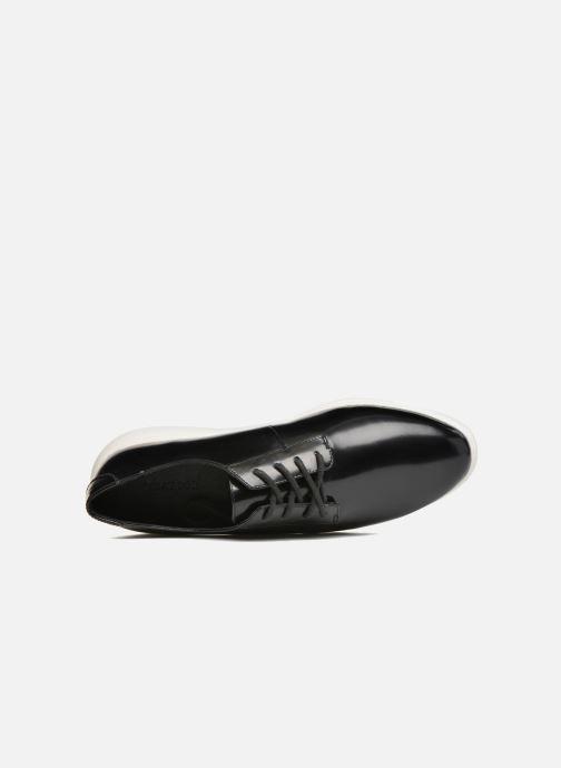 Zapatos con cordones What For Iris Negro vista lateral izquierda