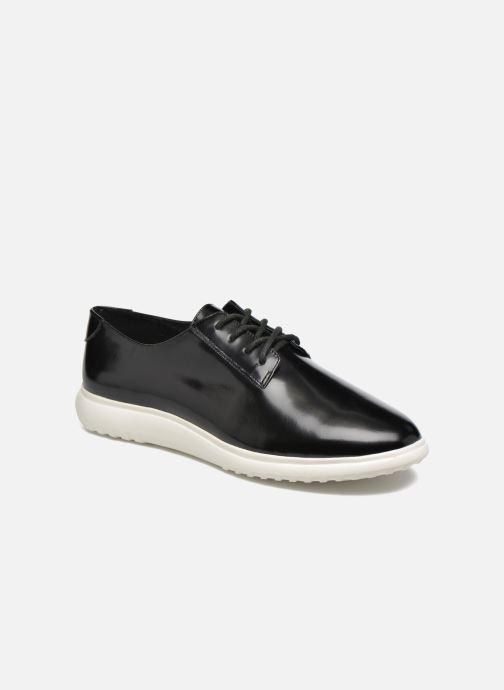 Zapatos con cordones What For Iris Negro vista de detalle / par