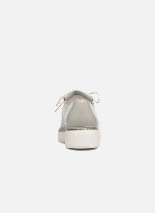Zapatos con cordones What For Lily Gris vista lateral derecha