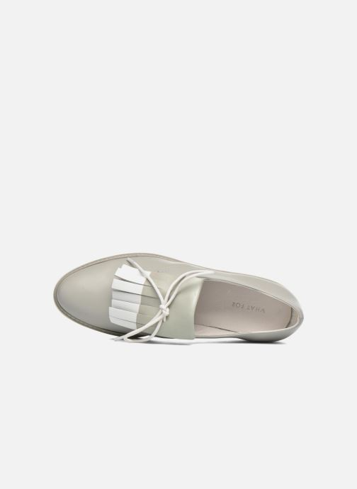 Zapatos con cordones What For Lily Gris vista lateral izquierda
