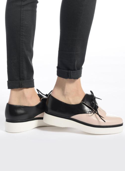 Zapatos con cordones What For Lily Negro vista de abajo