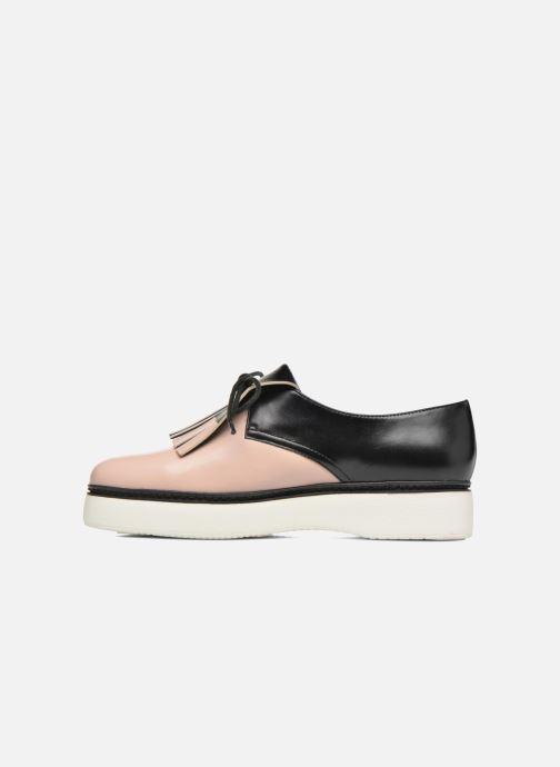Zapatos con cordones What For Lily Negro vista de frente