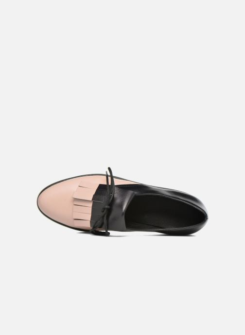 Zapatos con cordones What For Lily Negro vista lateral izquierda
