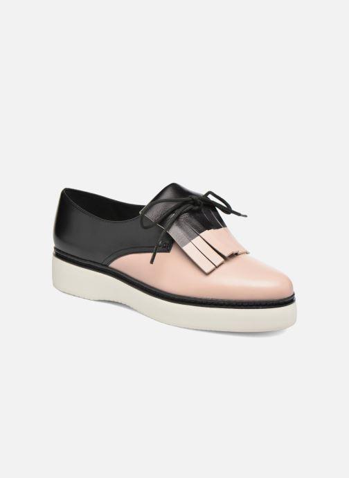 Zapatos con cordones What For Lily Negro vista de detalle / par