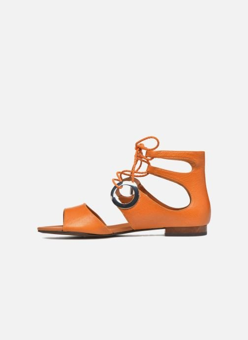 Sandals What For Primrose Orange front view