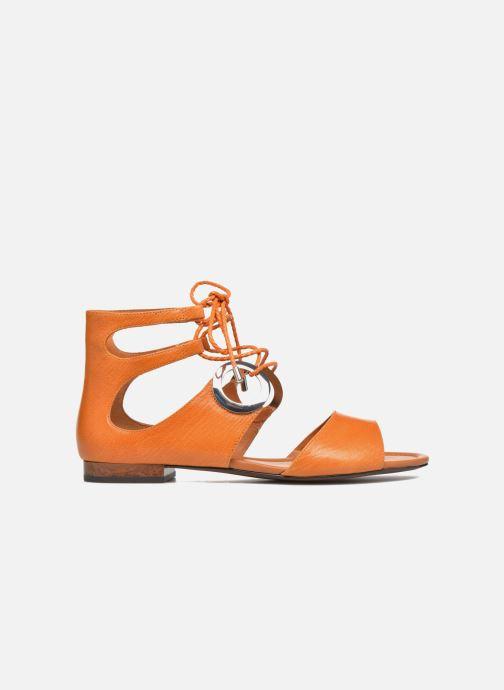 Sandals What For Primrose Orange back view