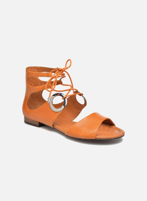 Sandals What For Primrose Orange detailed view/ Pair view