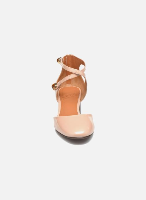 High heels What For Clover Pink model view
