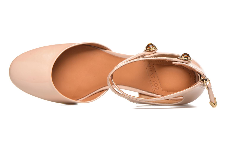 Zapatos de tacón What For Clover Rosa vista lateral izquierda