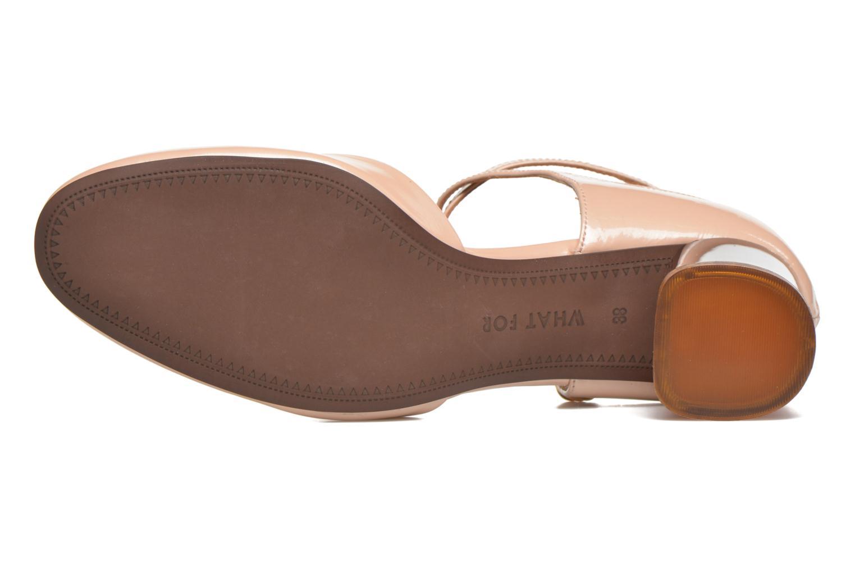 Zapatos de tacón What For Clover Rosa vista de arriba