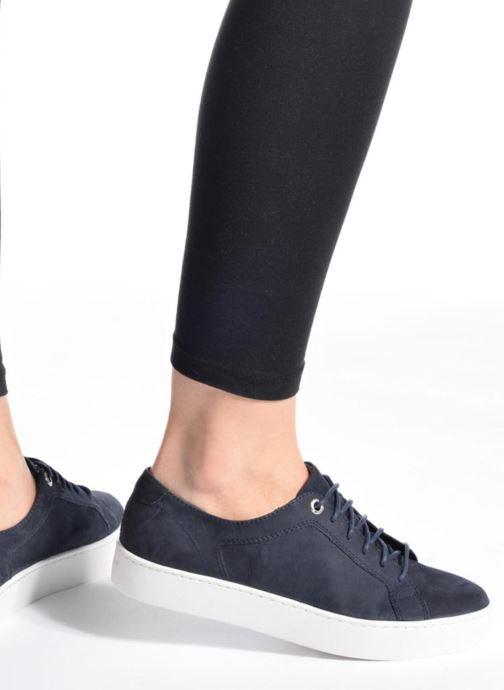 Sneaker Vagabond Shoemakers ZOE 4326-150 blau ansicht von unten / tasche getragen