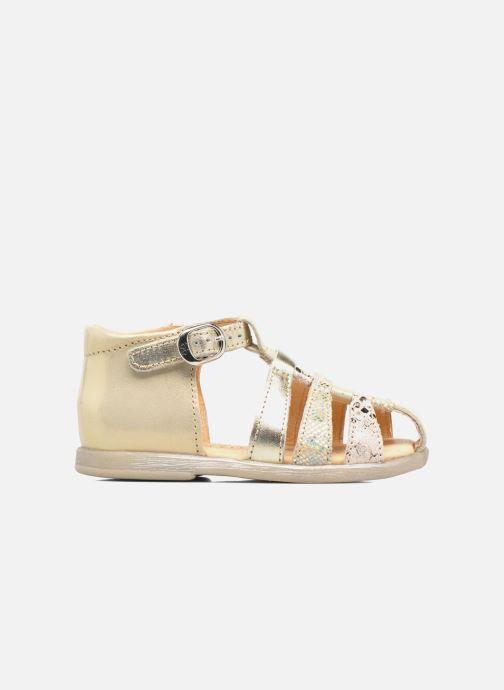 Sandals Babybotte Tikalou Bronze and Gold back view