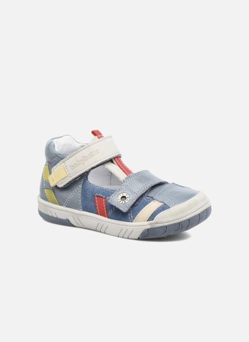 8abfb0828d06 Sommersko Babybotte Steppe Blå detaljeret billede af skoene