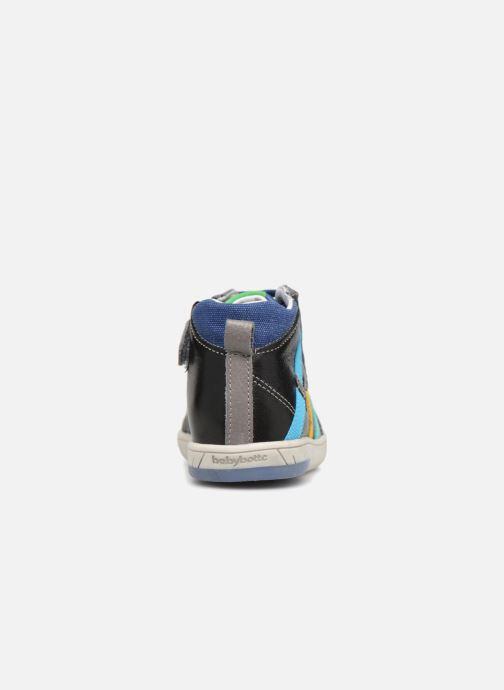 Baskets Babybotte Artistreet Noir vue droite