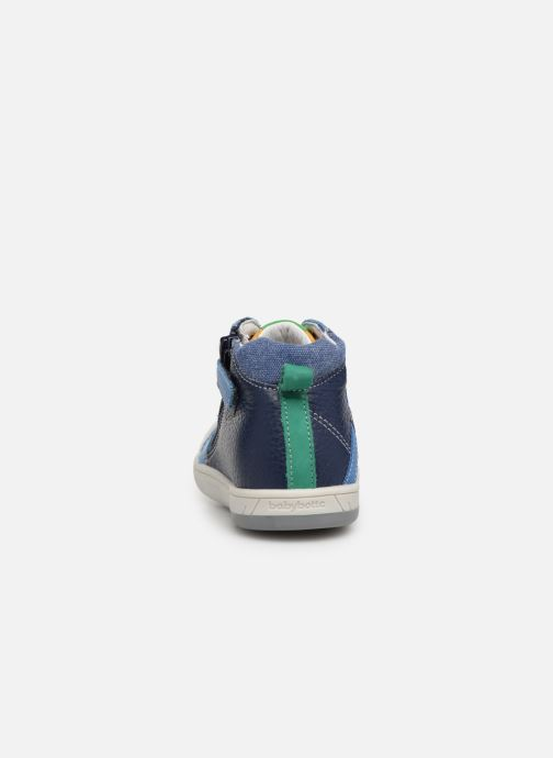 Trainers Babybotte Artistreet Blue view from the right