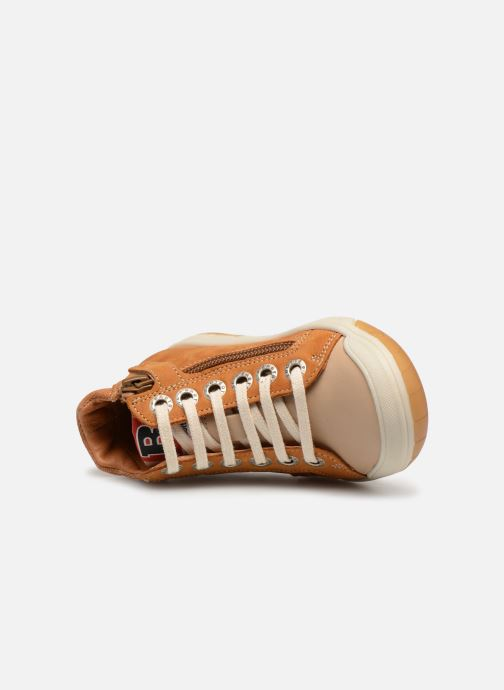 Trainers Babybotte Artistreet Brown view from the left