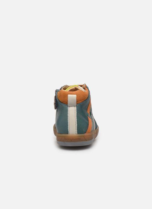 Baskets Babybotte Artistreet Vert vue droite