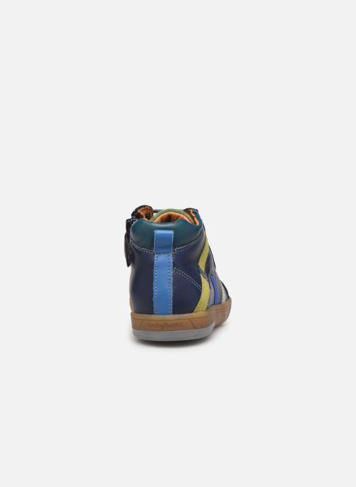Sneaker Babybotte Artistreet blau ansicht von rechts