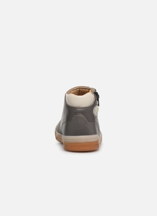 Trainers Babybotte B3 Lacet Grey view from the right