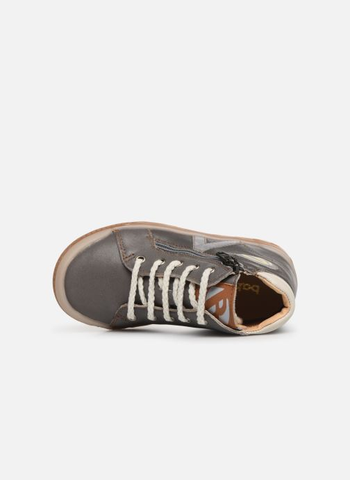Trainers Babybotte B3 Lacet Grey view from the left